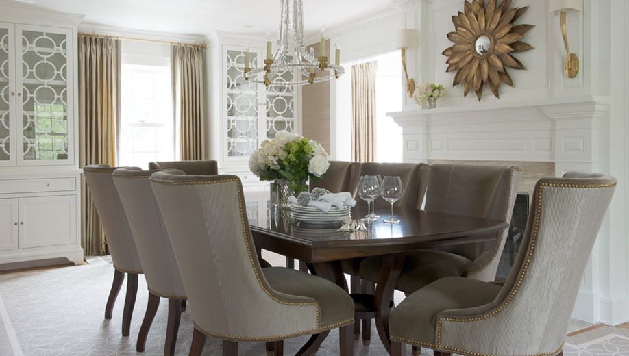 Refined Riverside Renovation  Morgan Harrison Home  Furniture Pleasing Taupe Dining Room Chairs Decorating Inspiration