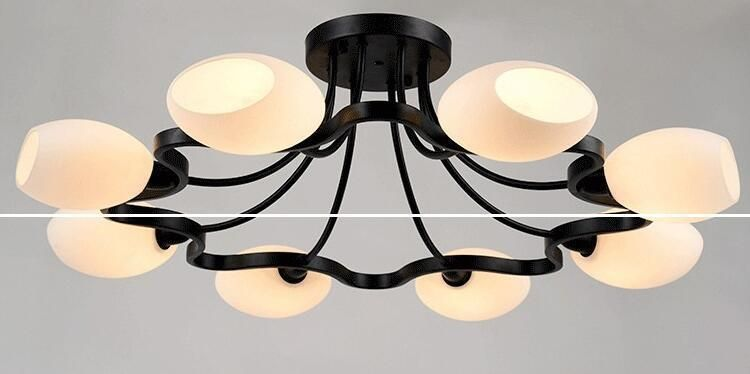 Item Type Ceiling Lights Style Modern Finish Iron Certification Ce Ccc Voltage 90 260v Technics Painted Power S Ceiling Lights Glass Lamp Base Glass Lamp