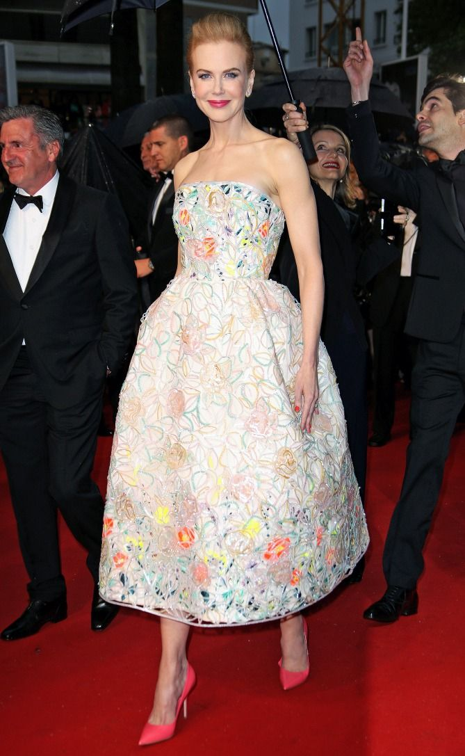 Nicole Kidman in a Dior Haute Couture dress - click through for more of her best Cannes dresses ever