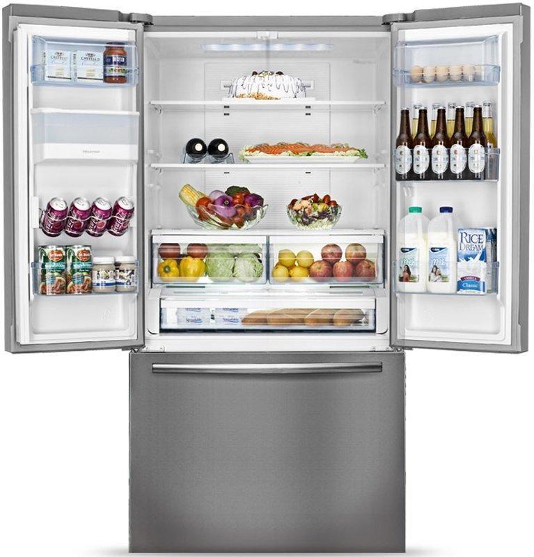 Hisense Hr6fdff630s 630l Stainless Steel French Door Fridge Fridge French Door French Doors French Door Refrigerator
