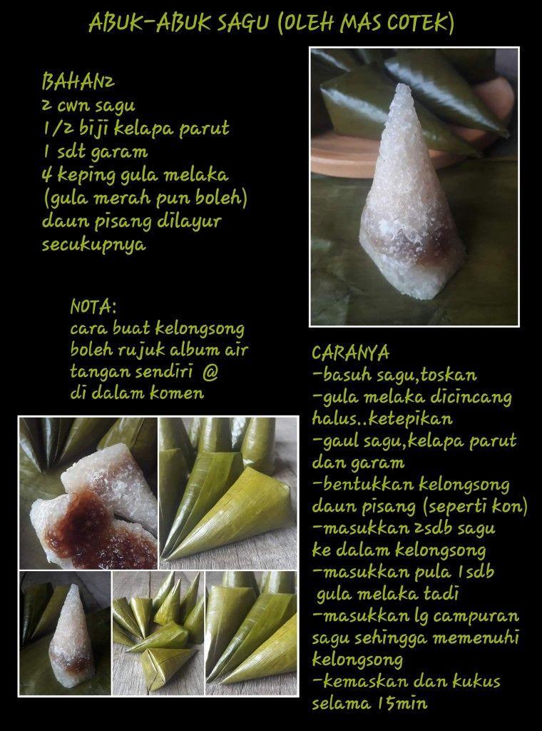 Abuk Abuk Malaysian Dessert Asian Desserts Traditional Cakes