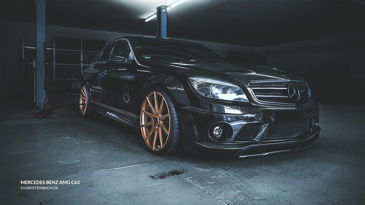 Mercedes Benz C63 AMG on Behance | Carros + adesivos