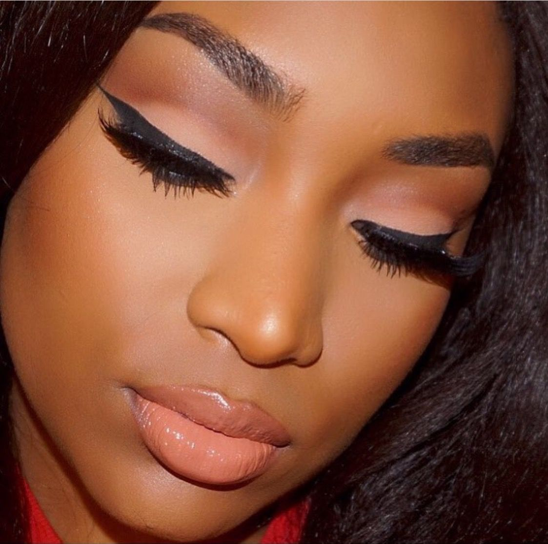 makeup for black women | dark eye makeup in 2018 | pinterest