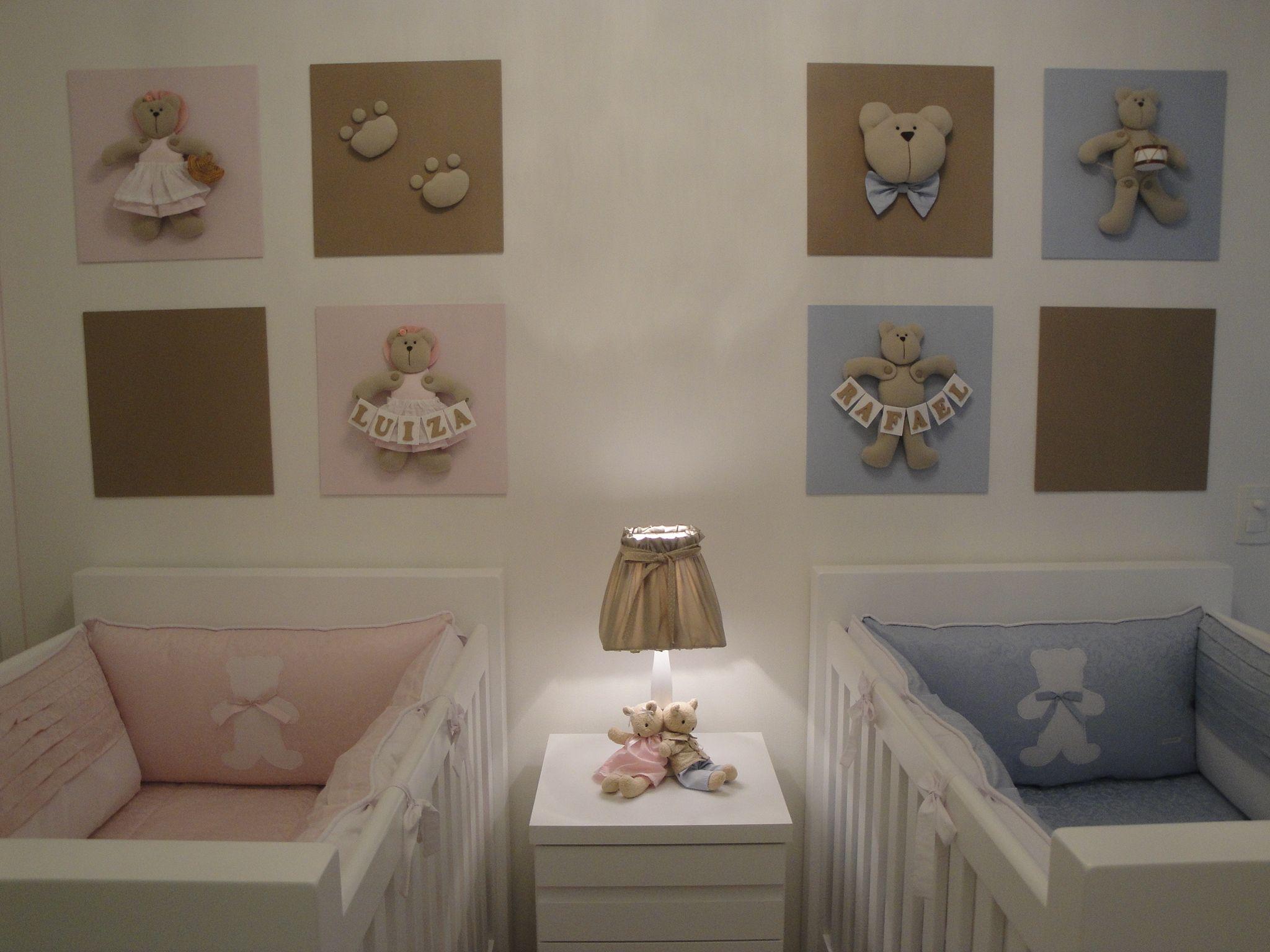 50 Ideias De Quartos Para Beb S G Meos Babies Nursery And Room ~ Imagens Para Decorar O Quarto E Quarto De Casal De Gemeos