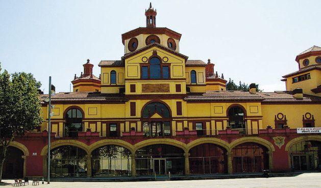 Mercat Flors /Teatre Lliure. Barcelona, Catalonia