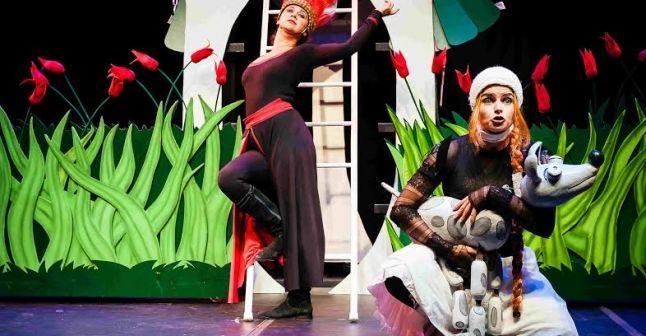 Rapunzel, no Teatro Folha Sábados e domingos, às 16 horas