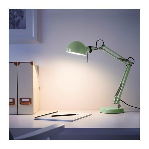 Lampade Da Ufficio Ikea.Forsa Lampada Da Lavoro Verde Nel 2019 Giorgi Ikea Work Lamp E