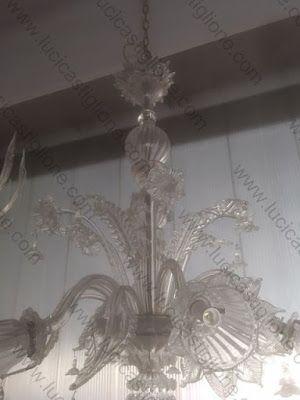 Lampadario Di Murano Antico.Ricambi Per Lampadari In Vetro Di Murano E Specchi Antichi