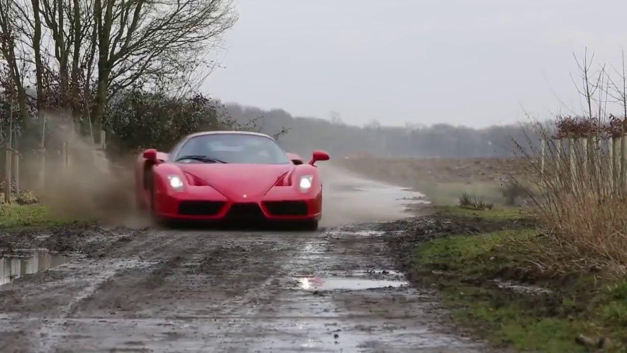 Ferrari Drift Ferrari Enzo Ferrari Car Throttle
