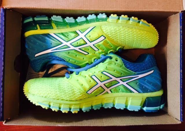 Asics Womens Gel Quantum 180 2 Running Shoes Yellow White
