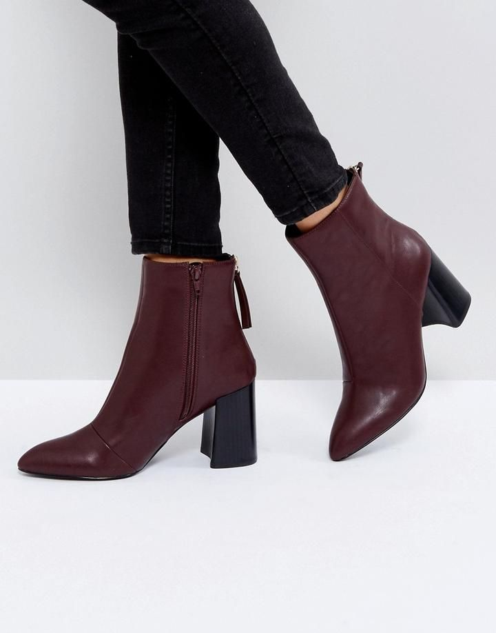 9a7f64733d68 Secret Pointed Heeled Ankle Boots