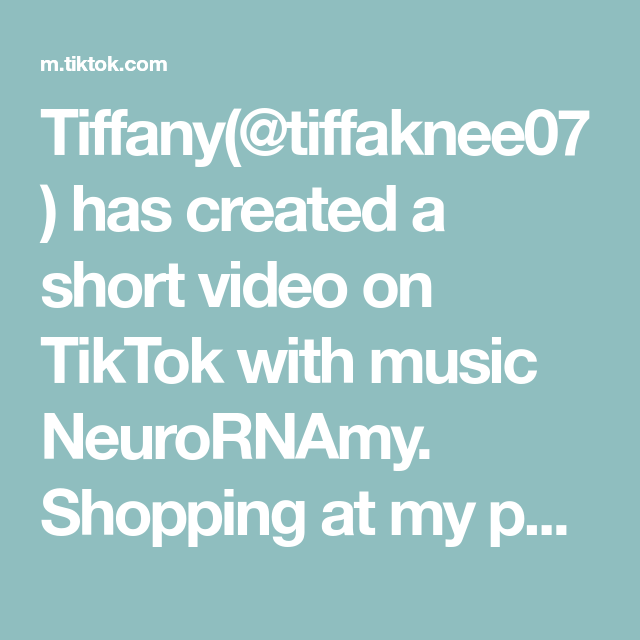 Tiffany Tiffaknee07 Has Created A Short Video On Tiktok With Music Neurornamy Shopping At My Parents House My Favori Music Pirate Music Questions For Girls