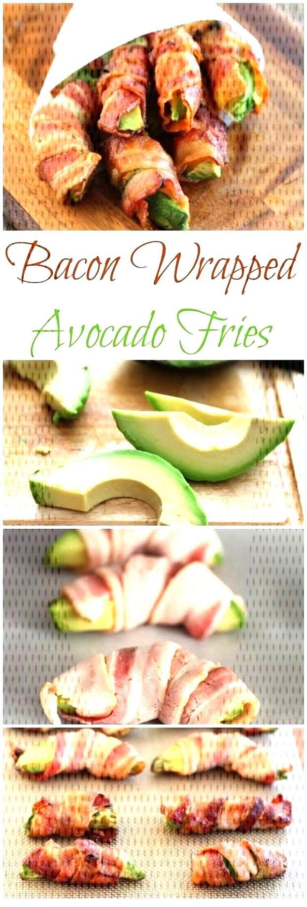 Mit Speck umwickelte Avocado - Pommes | Avocado-Rezepte Mit Speck umwickelte Avocado - Pommes | Avo