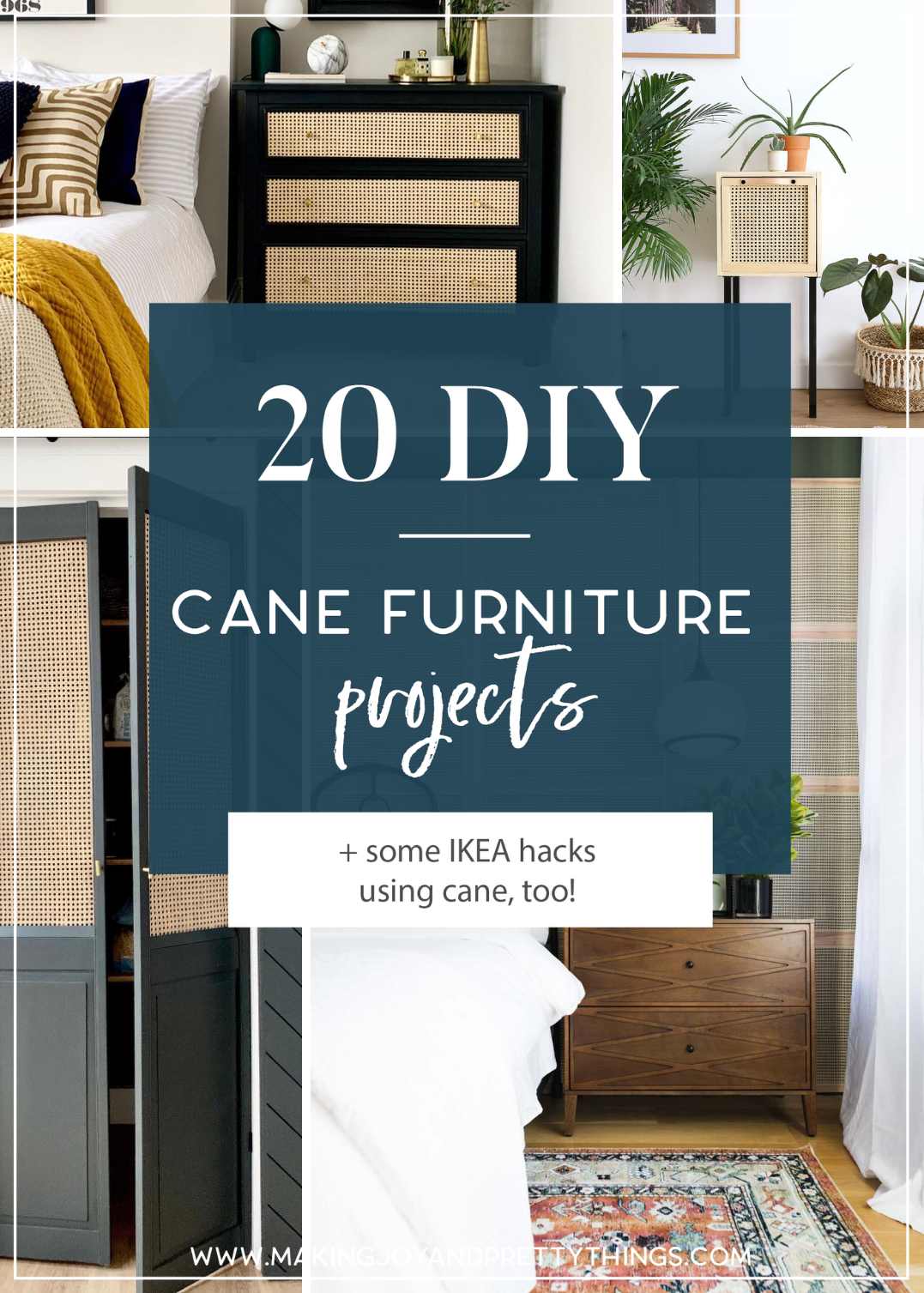 20 Inspiring DIY Cane Furniture Projects in 2020 | Cane