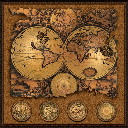 Cartographia 3 antique map 20x20 this antique wall map features cartographia 3 antique map 20x20 this antique wall map features the world broken into eastern and western hemispheres shop online at worldofmaps gumiabroncs Choice Image