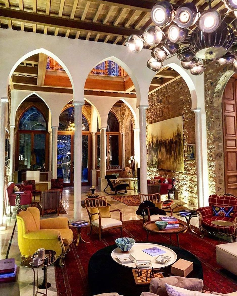 Beautiful Living Area Reminiscent Of Old Islamic Spain