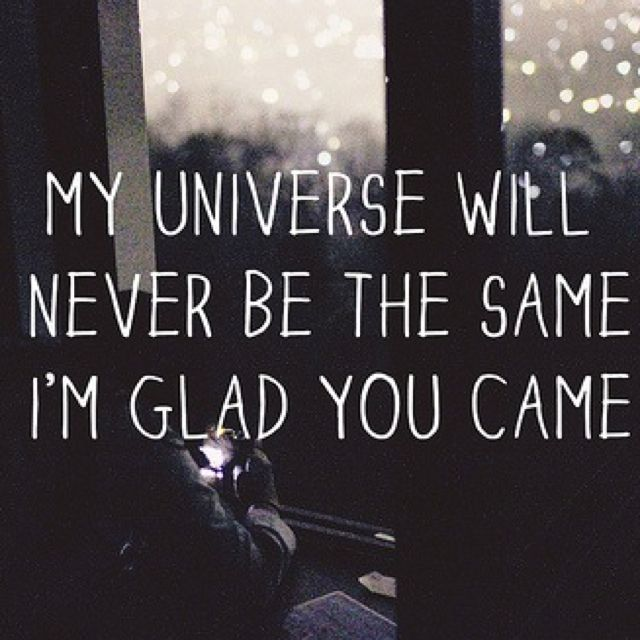 Glad You Came The Wanted Song Quotes Quotes Words
