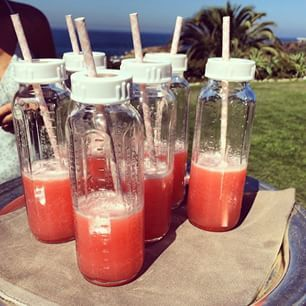 @chrissyteigen Instagram baby bottle booze