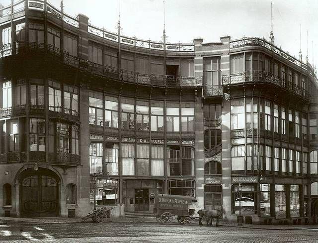 Maison du Peuple - Volkshuis (Horta) (Rue Joseph Stevensstraat) 1899 - credit impot maison neuve