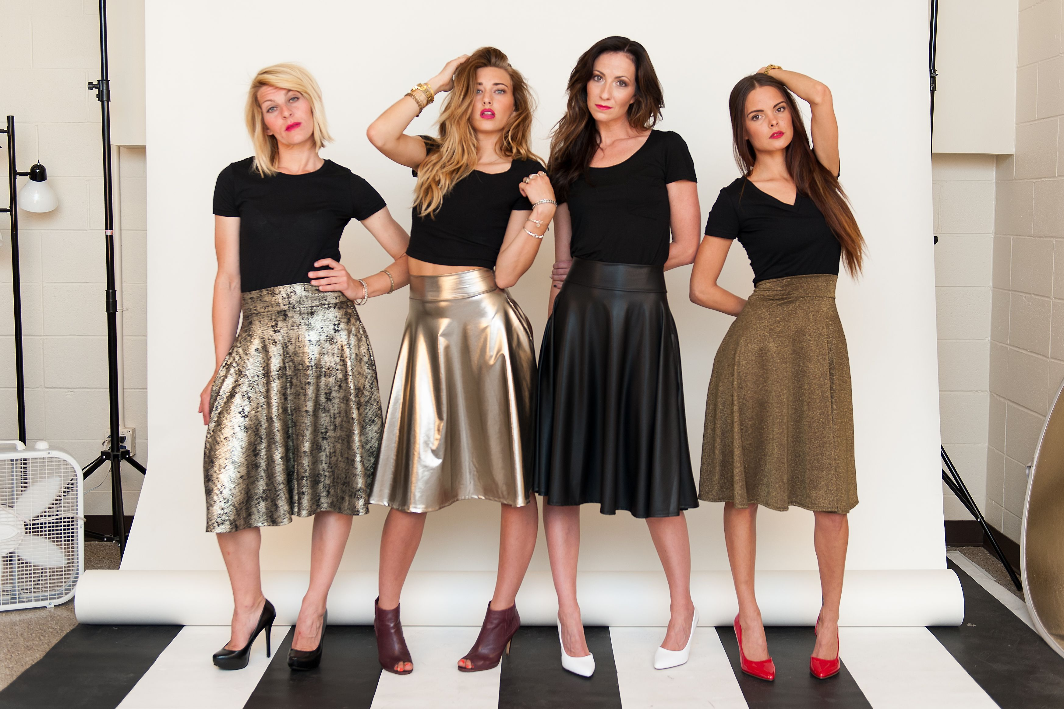 5a909ee48b Midi Skirts from Agnes and Dora- I am in love! #agnesanddora #midiskirts