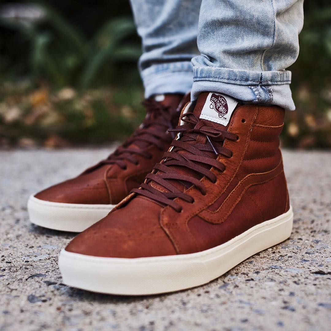 """dbb1a8eebaaa """"Vans SK8 Hi Cup CA ( 125) Available now online and in-store at our  Rockville Centre location  Vans VansCA  Sk8HiCup"""""""