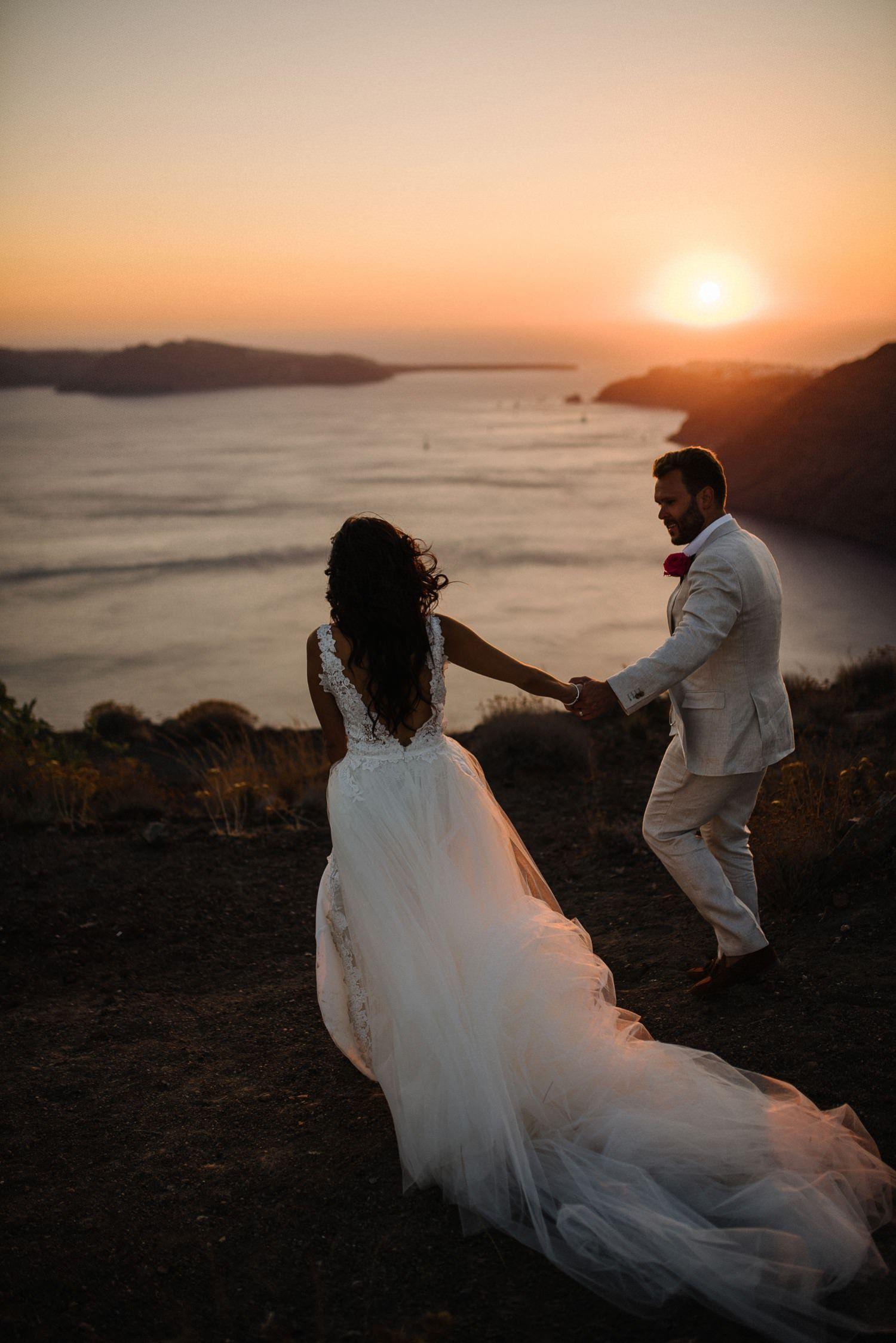 91881120871 Santorini elopement. Greek island elopements. Intimate Santorini  Destination Wedding