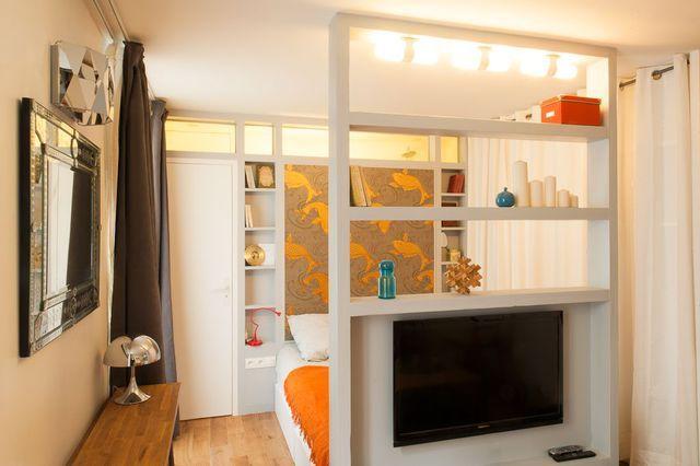 Recevoir dans studio moins de 20 m2  solutions meubles et