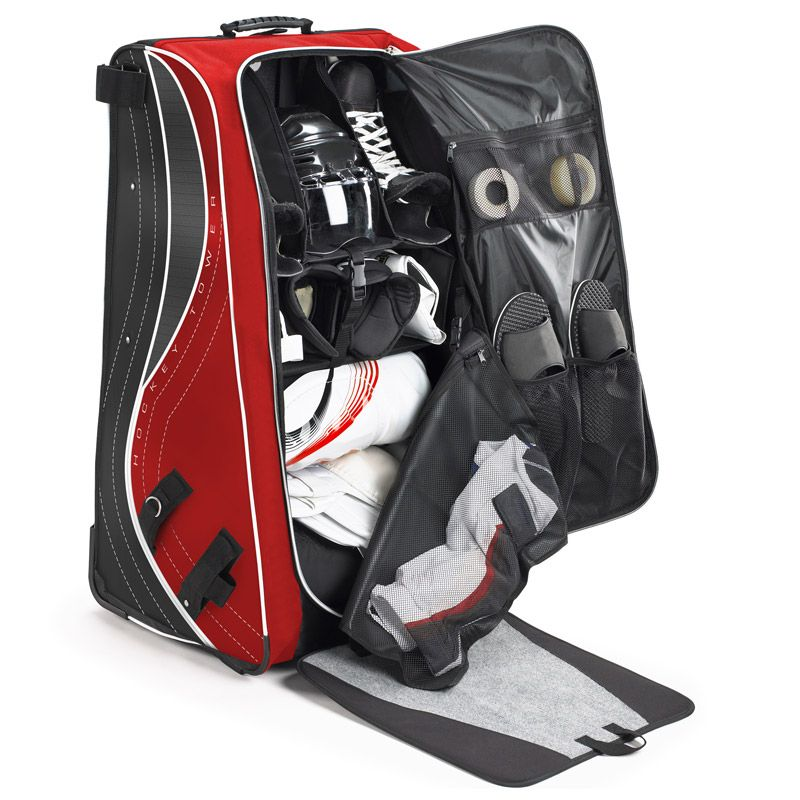 Grit Ht4 Hockey Tower 33in Wheeled Equipment Bag