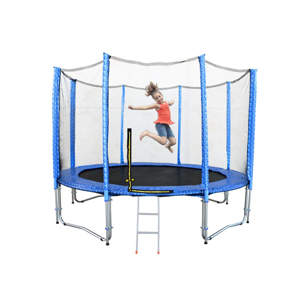 12ft Premier Trampoline With Net Ladder Trampoline With Net Backyard Trampoline Trampoline