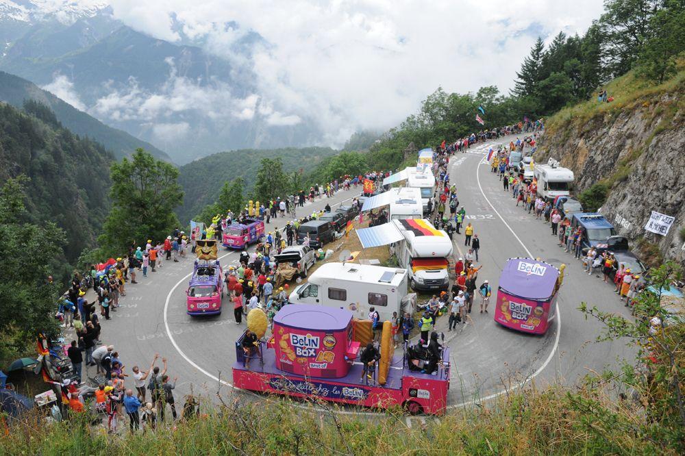 Épinglé sur La Caravane du Tour de France