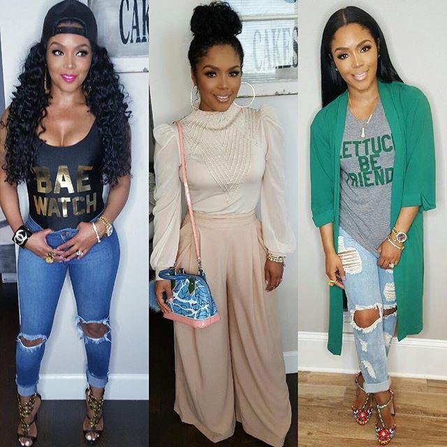 Rasheeda Frost 2015 Outfits