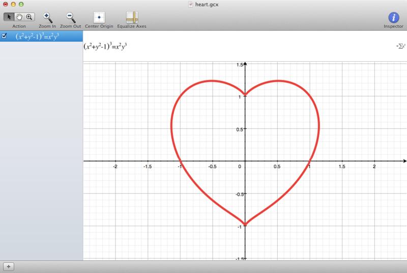 美しすぎるハートの数式 プログラムモグモグ 微分 数式 計算