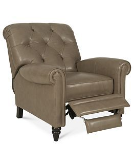 Martha Stewart Bradyn Leather Sofa Living Room Furniture Collection    Furniture   Macyu0027s