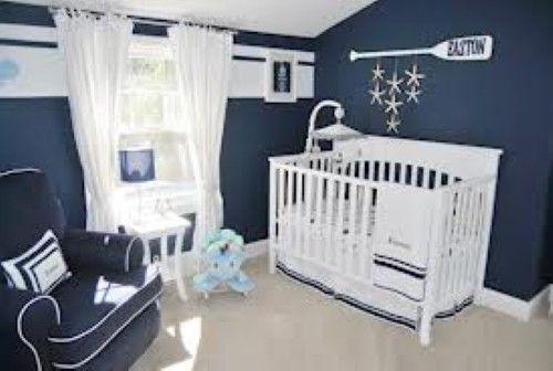 dormitorio azul bebé | Nautical Nursery Ideas | Pinterest ...