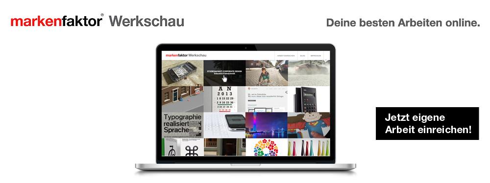 Showcase your creativity + submit your finest works now: http://www.werkschau.markenfaktor.de/einreichen  - #Branding #Design #Packaging #Typo #Webdesign #Advertising