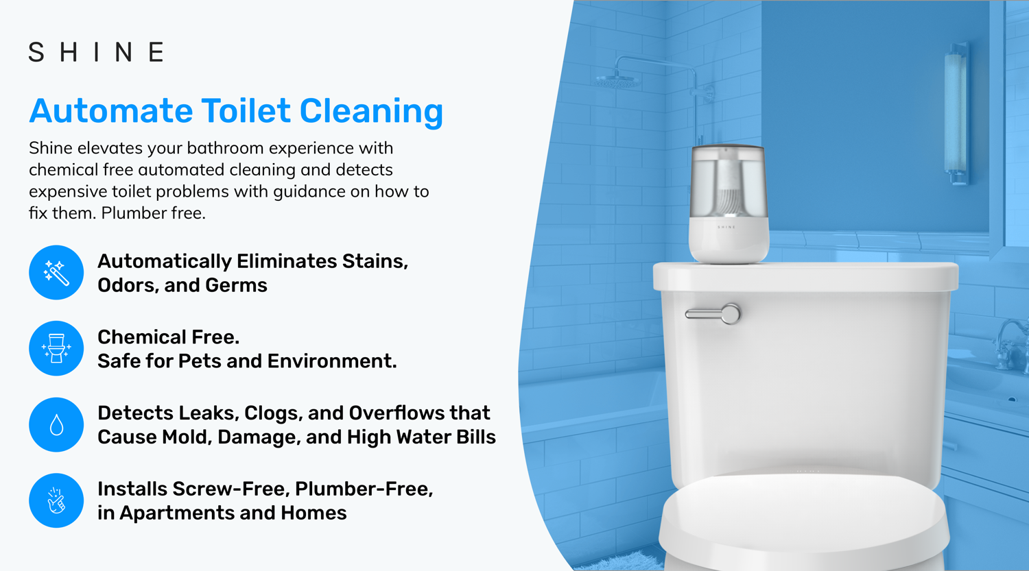 Https Try Shinebathroom Com Referralpage Referralcode Dmmevv1 Refsource Copy Toilet Cleaning Bathroom Smells Cleaning