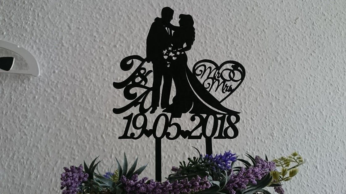 Wedding Cake Topper Varf De Tort Personalizat Decoratiuni Tort Nunta