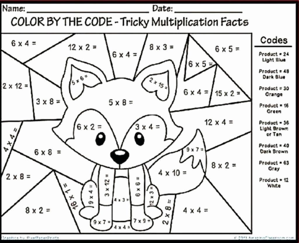 Coloring Activities For Second Graders
