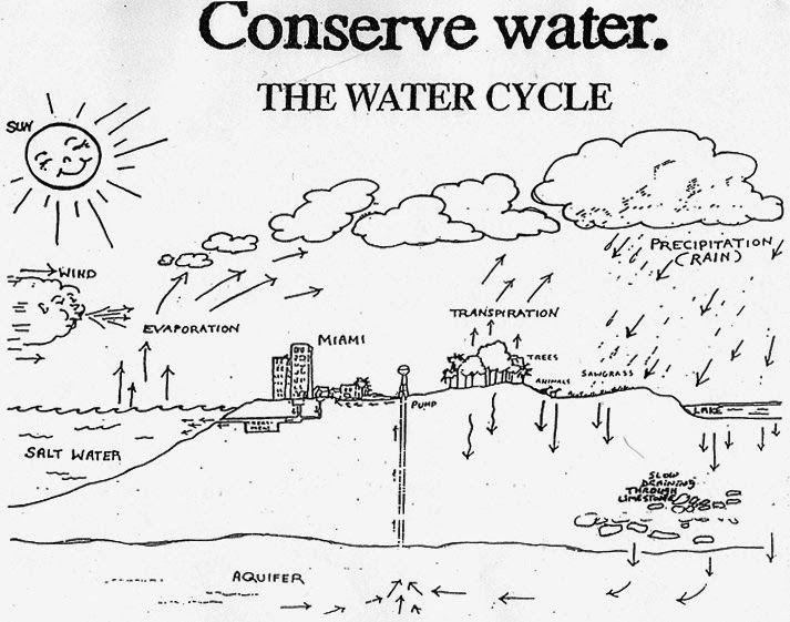 Dibujo-del-ciclo-del-agua-para-colorear-5.jpg (713×561) | WATER ...