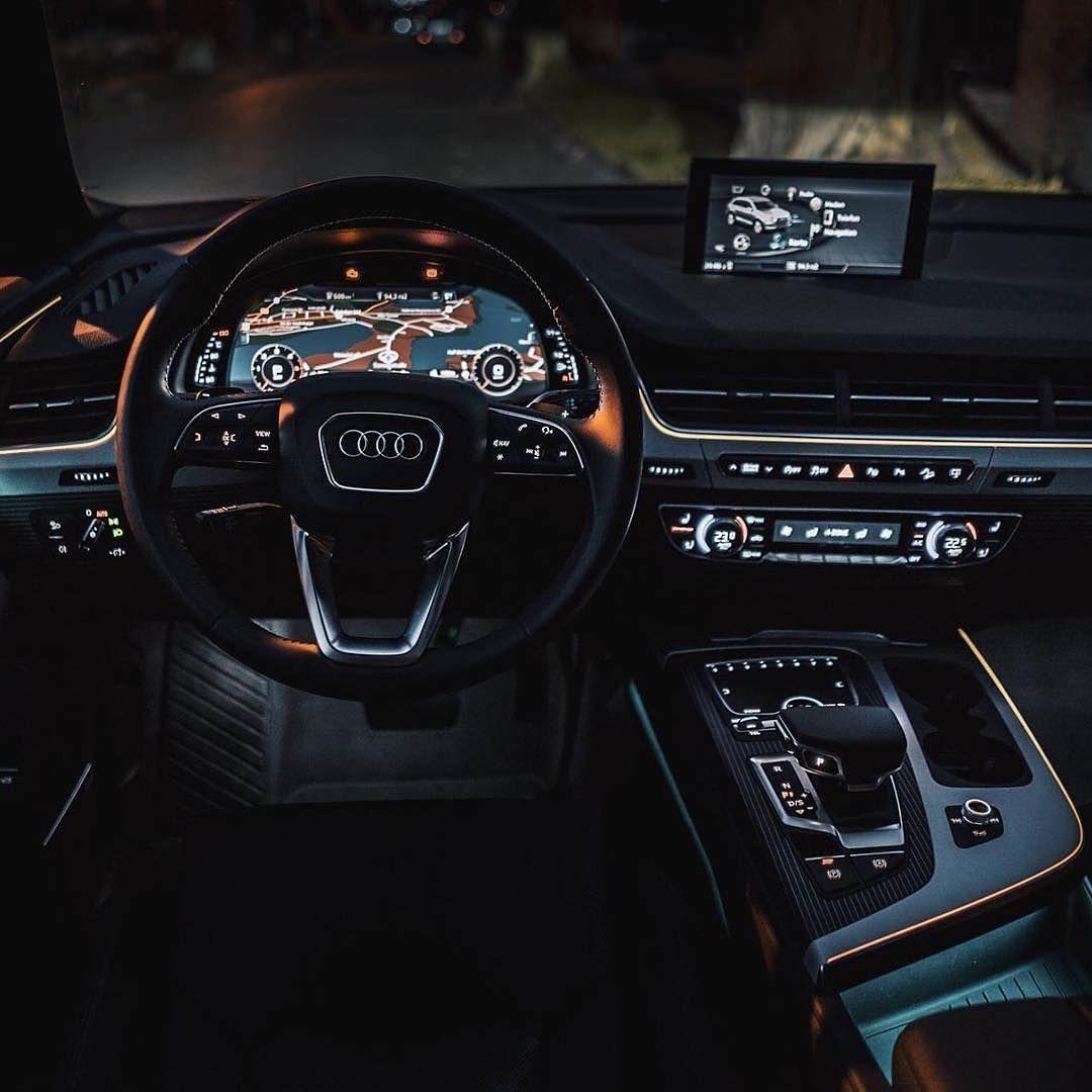 Night Rides Follow Us Audi Obsession Audi Obsession Audi Obsession Audi Interior Audi R8 Interior Audi Q7 Interior