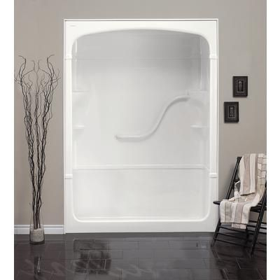 Mirolin Madison 60 Inch 3 Piece Acrylic Shower Stall No Seat