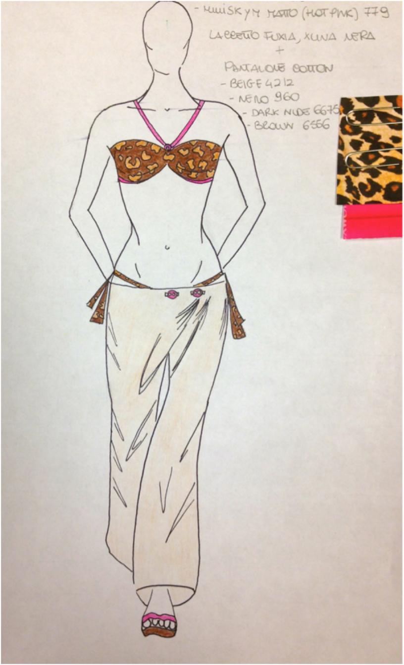 ... #fashion on paper