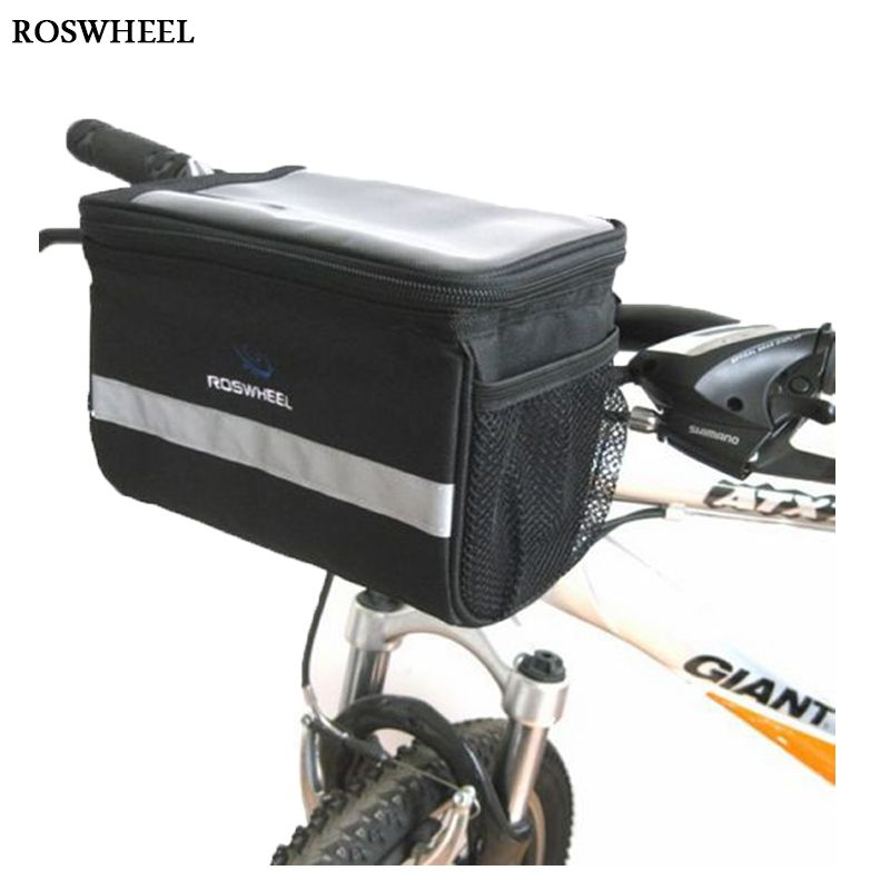 Bushwhacker Durango Black Handlebar Bike Bag Cycling Pack Bicycle Luggage