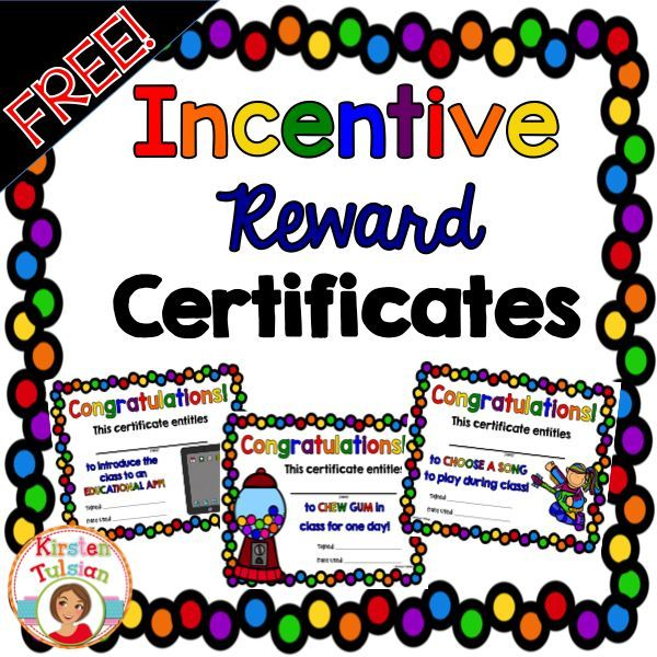 Reward Certificates For Students Romeondinez