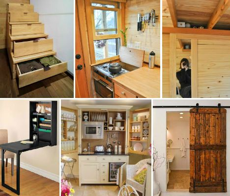 27 Space Saving Tricks And Techniques For Tiny Houses Webecoist Tiny House Living Tiny House Plans Space Saving