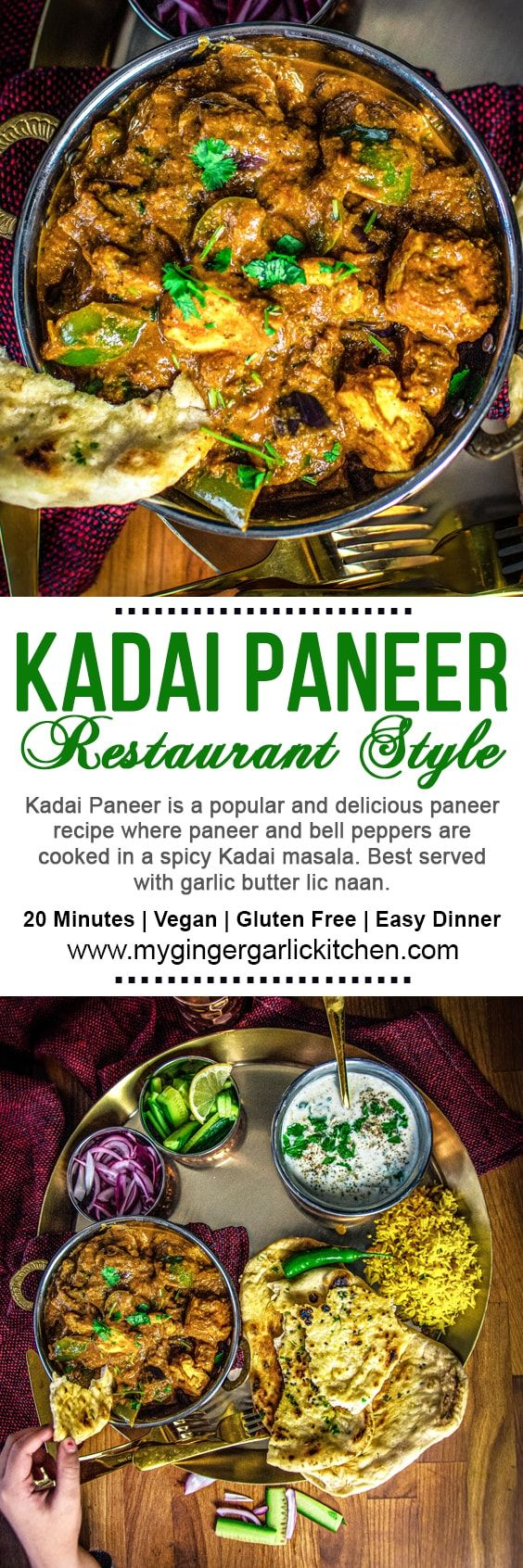 kadai paneer recipe in 2020 paneer recipes delicious healthy recipes recipes on hebbar s kitchen kadai paneer id=77299