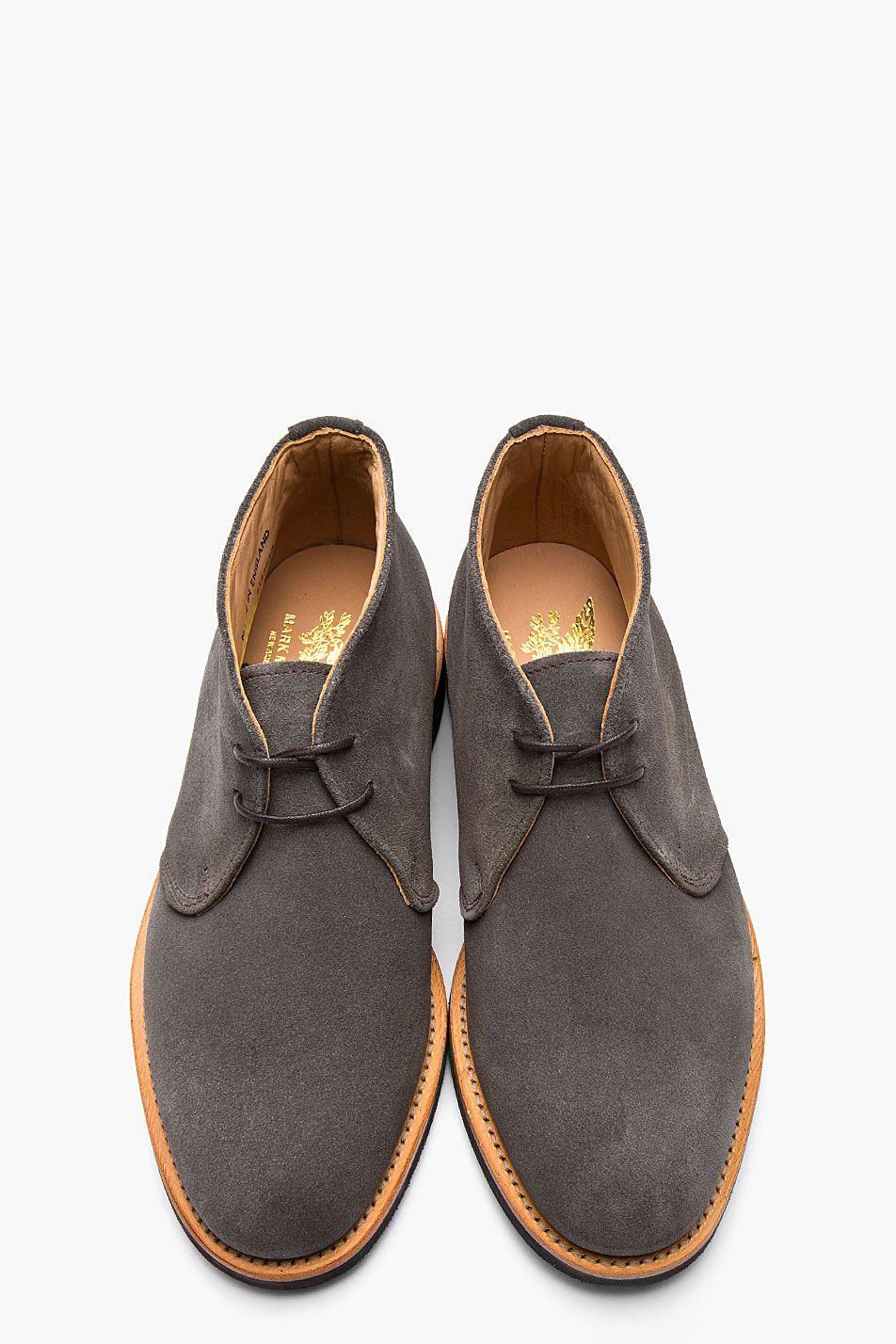 Zapatos Mcnairy Calzado Suede Chukkas Pinterest Charcoal Mark wpfqIA