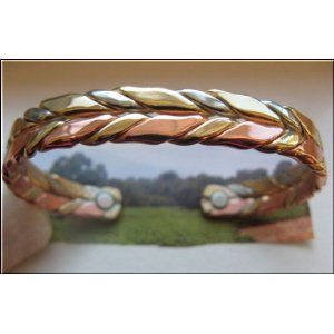 Men S Solid Copper Magnetic Cuff Bracelets Of All Styles For Everyone Taste Available In 8 And 9 Inch Wrist Sizes