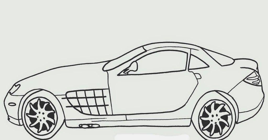 Sketsa Gambar Modifikasi Mobil Untuk Anak Terbaru Dan
