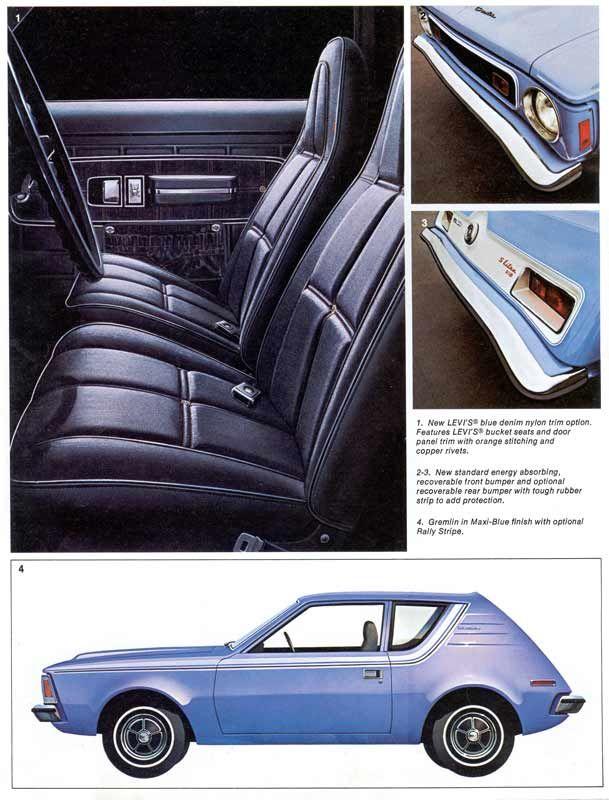 1973 Amc Gremlin Amc Gremlin Retro Cars Gremlin Car